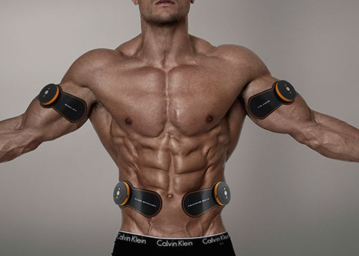 SHANDONG SD - 400 Muscle Training Gear Smart EMS Auto Body Sculpting Exercise Tool 6 Modes