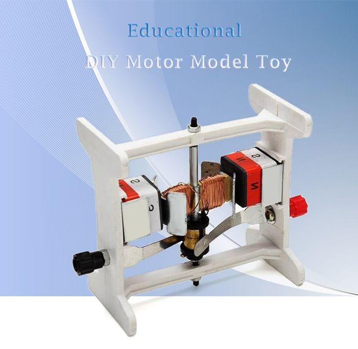 Motor Model DIY Experimental Device for Children