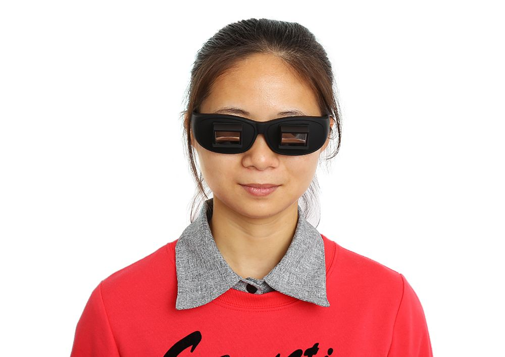 Lazy Glasses Creative High-definition Horizontal Glasses  Bed Lie-down Periscope Glasses
