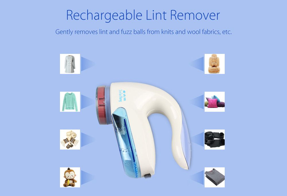 JTY-2018 Electric Lint Remover Clothes Fuzz Fluff Fabrics Sweaters Shaver