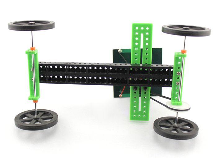 DIY Solar Car Model Assemble Toy Educational Novel Gift
