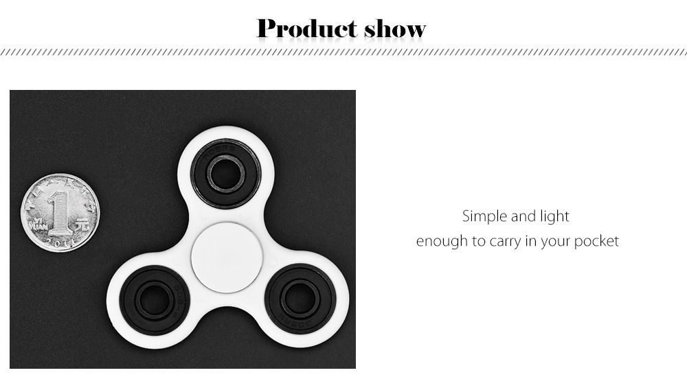 Steel Ball Bearing Gyro Style Stress Reliever Pressure Reducing Toy for Office Worker