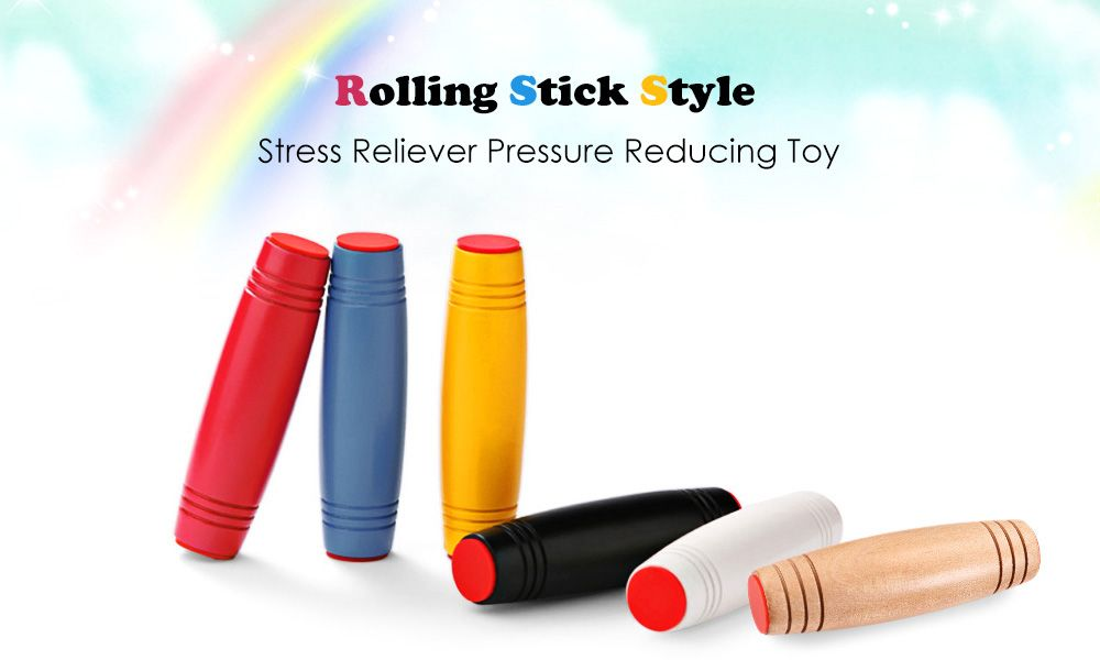 Fidget Roller Rolling Stick Style Stress Reliever Pressure Reducing Toy for Office Worker
