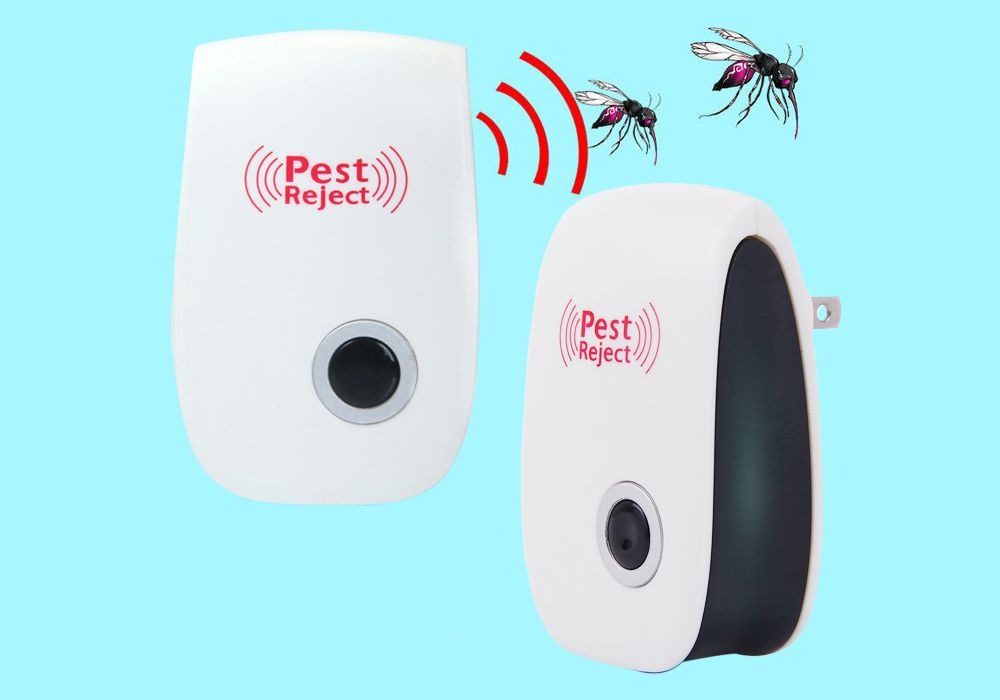 Multi-purpose Electronic Pest Repeller Ultrasonic Mosquito Rejector for Home Office
