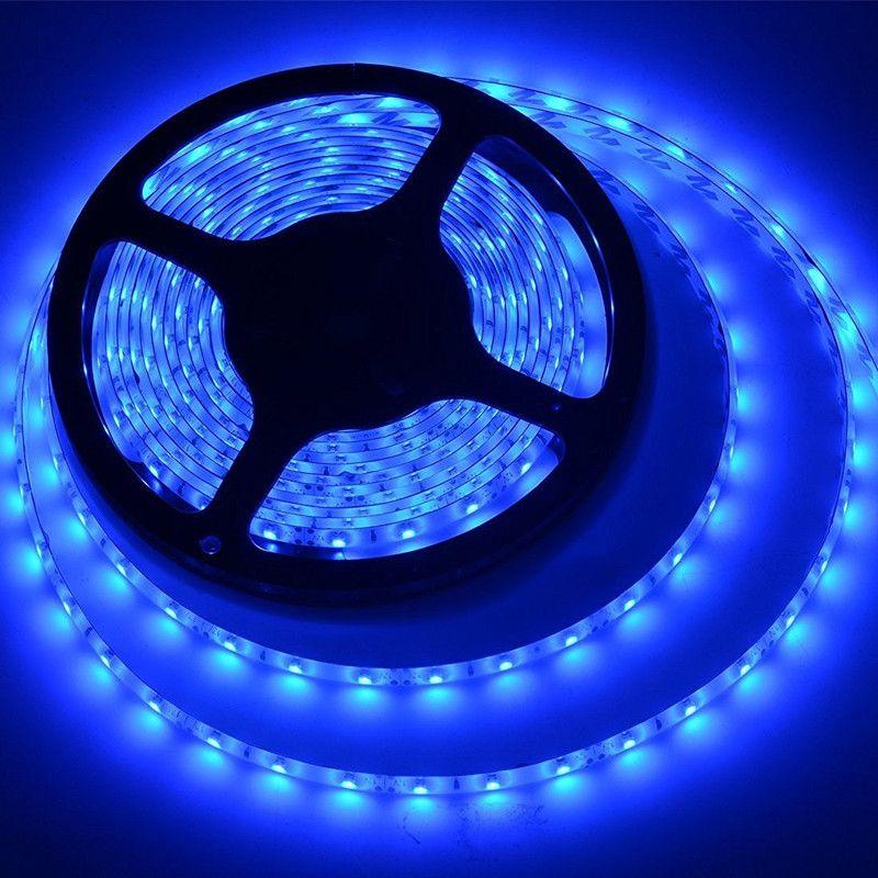Blue waterproof kwb led strip lights leds