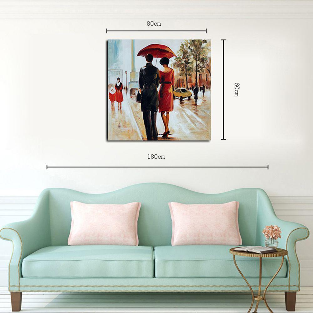 Hx-Art Toile Sans Cadre Peinture Décorative Parapluie ...