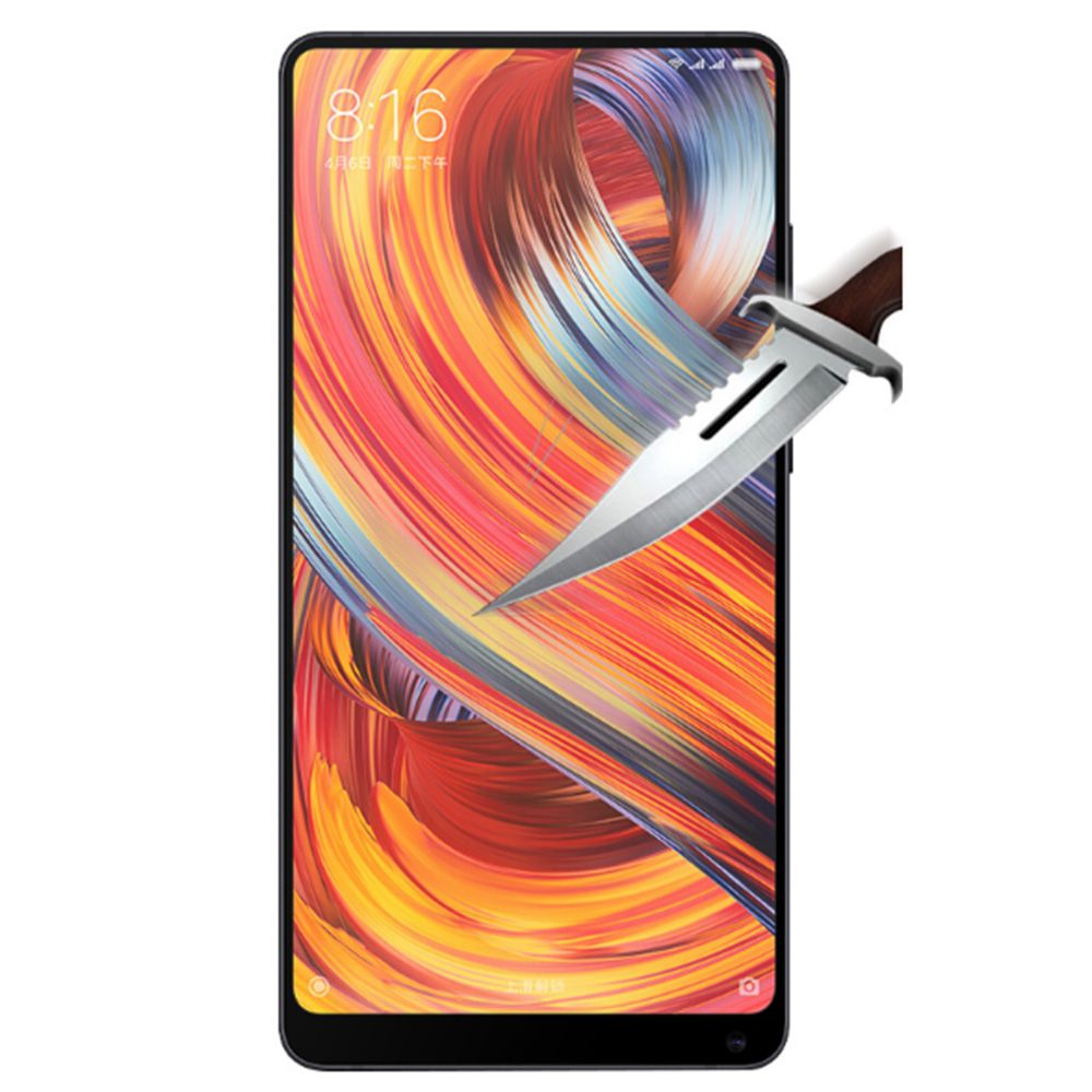 2018 Naxtop Full Screen Protector Tempered Glass For Xiaomi Mi Mix 2 03mm Redmi Note
