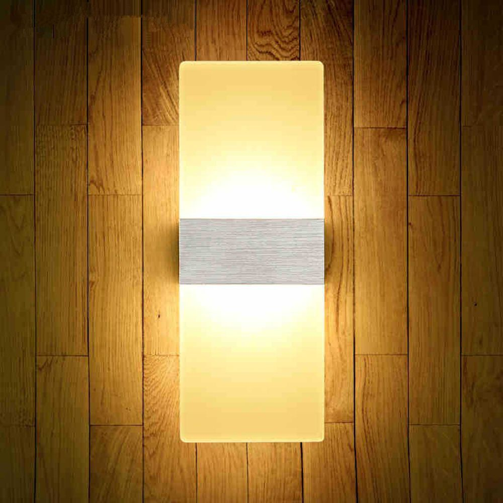 Silver Led Fashion Creative Wall Light 6w Living Room Corridor ...