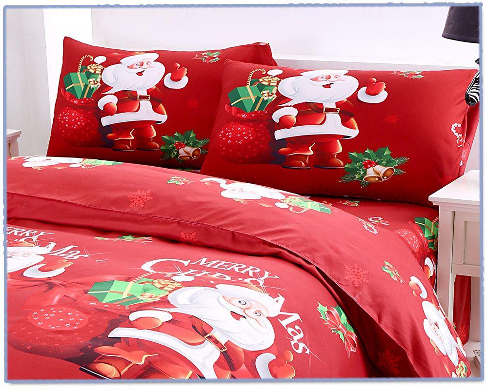 Red Queen 3d Cartoon Bedding Sets Merry Christmas Gift
