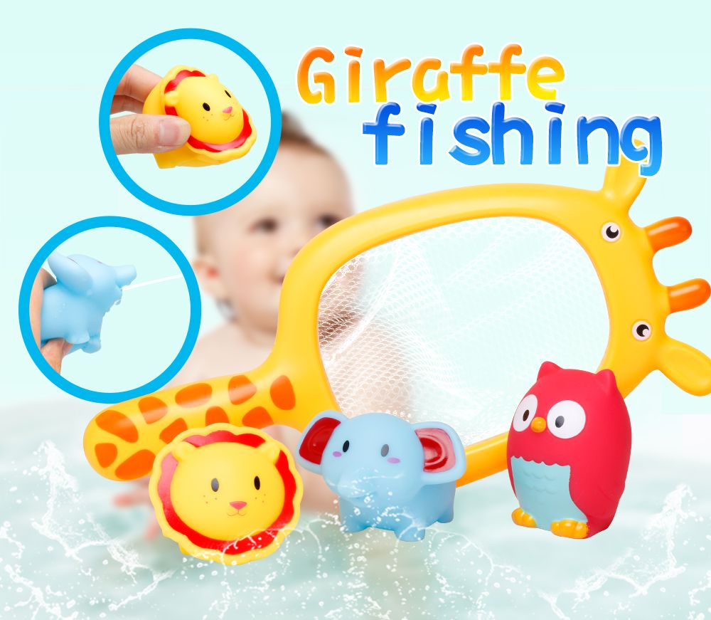 Colormix Play Water Baby Bath Toys Rubber Duck Bathroom Toys ...