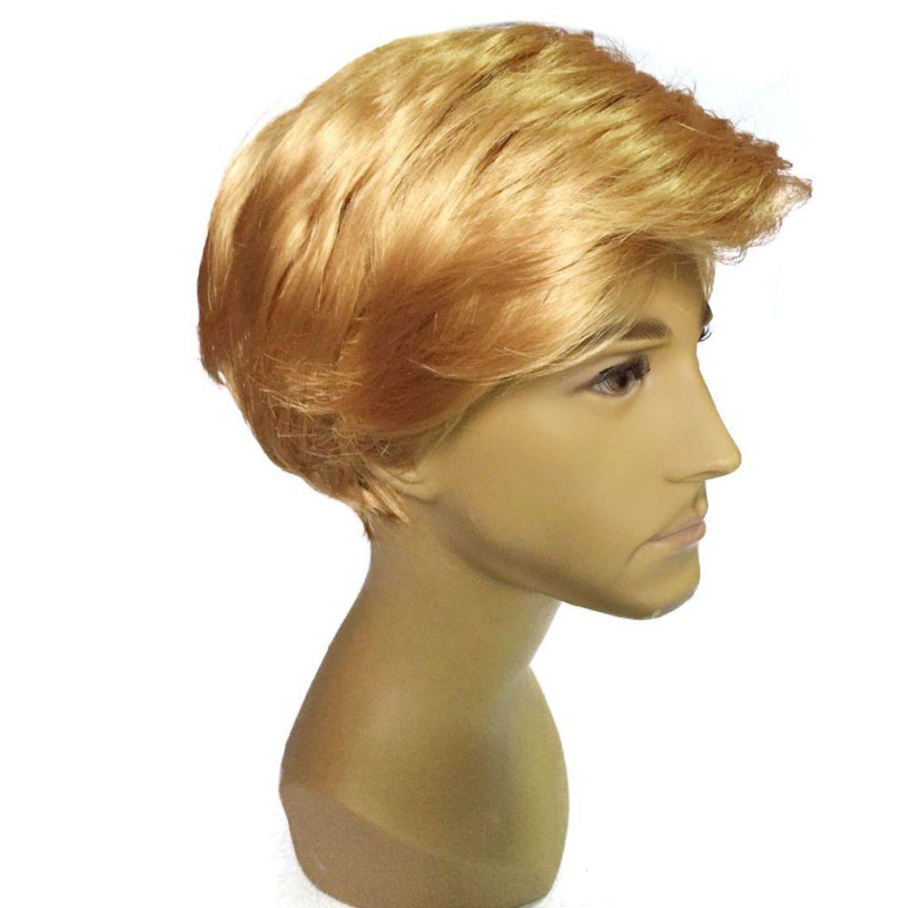 2019 Men Golden Fashion Short Wig Rosegal Com