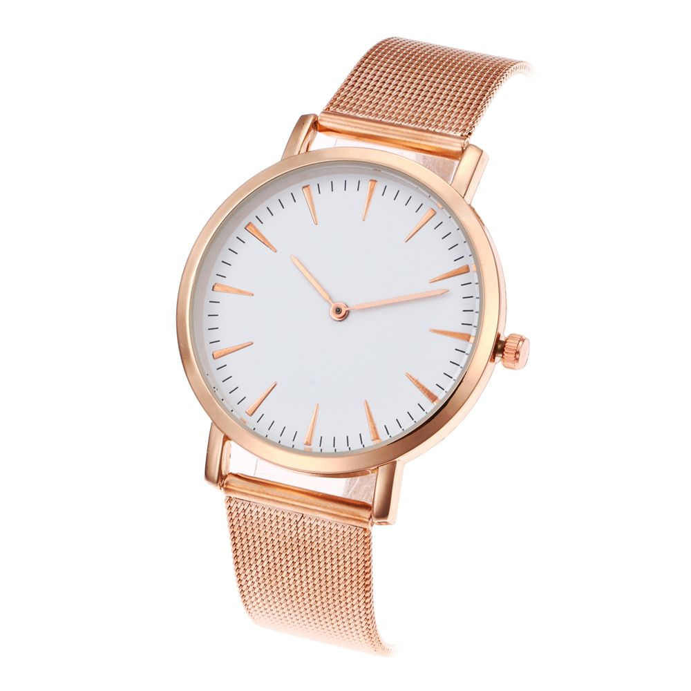 The New Popular Ladies Watch Simple Design Fashion Network With Personalized Diamond Watch Gift Box