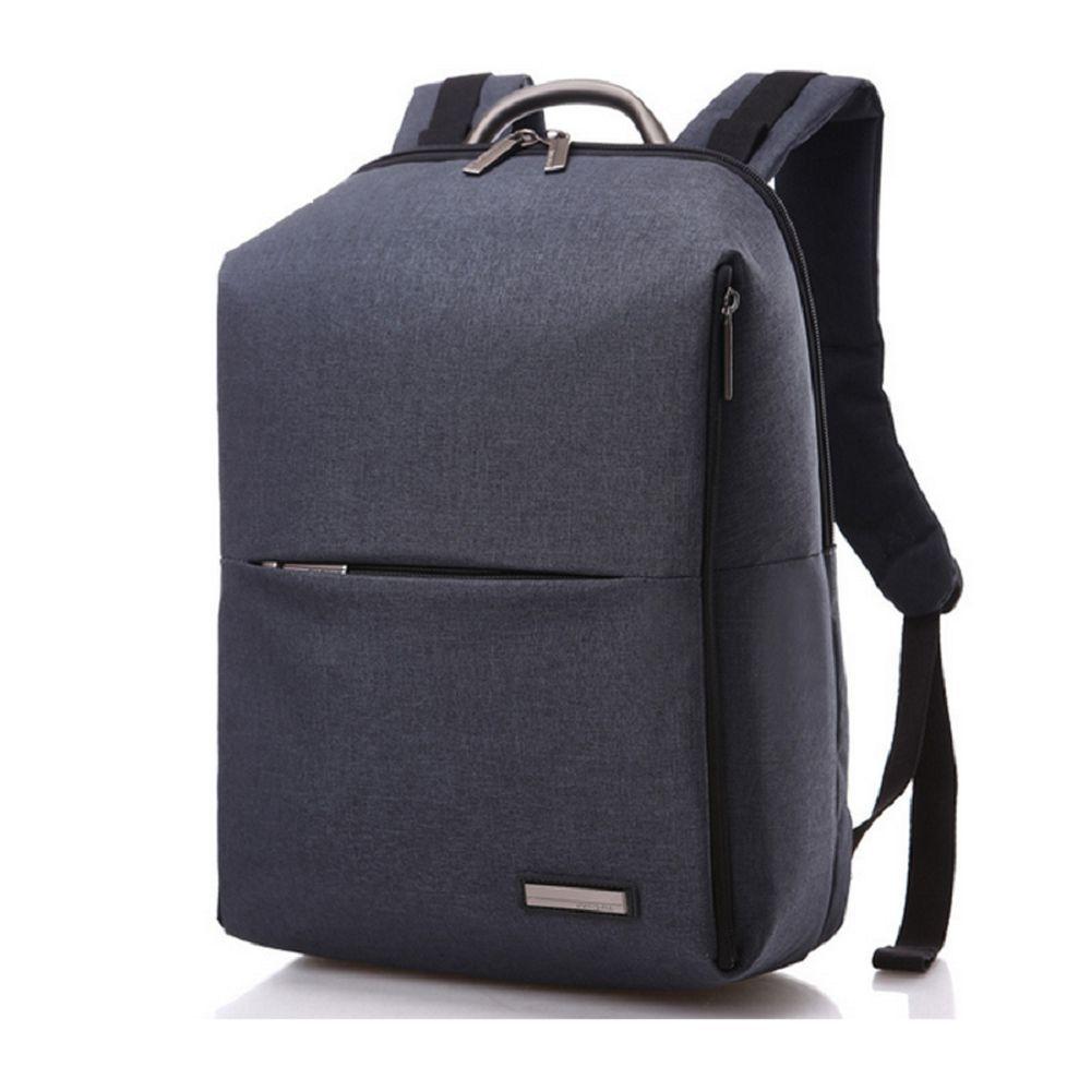 noir taille unique sac de travail en toile imperm able pour hommes 14 pouces sac dos. Black Bedroom Furniture Sets. Home Design Ideas
