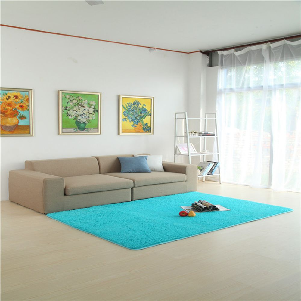 Windsor Blue 140x200cm Door Rug Simple Fresh Style