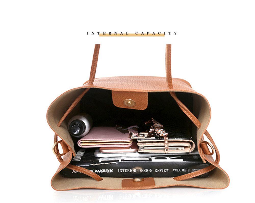 brun sac bandouli re portable la mode sac bandouli re portable. Black Bedroom Furniture Sets. Home Design Ideas
