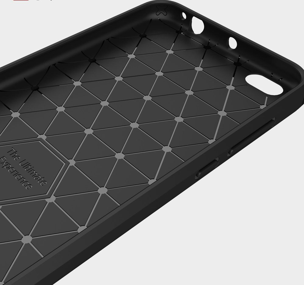 Softcase Carbon Fiber Anti Drop Tpu Soft Phone Cases For Xiaomi Case Redmi Note 5 Pro Ipaky Cover Karbon Premium Casing Softcace Silikon 4