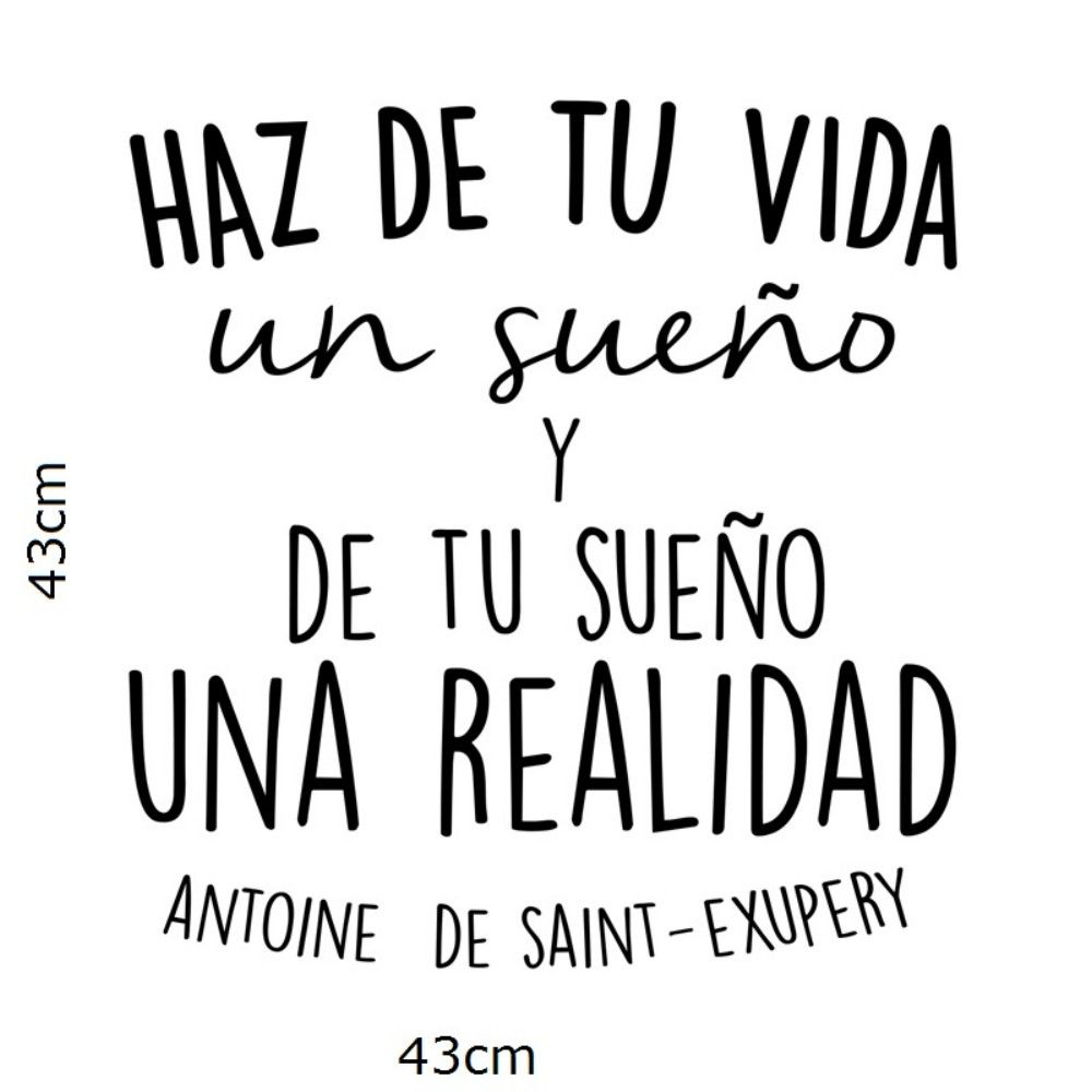 Inspirational Quotes In Spanish 2019 Spanish Inspirational Positive Quotes Vinyl Wall Sticker Make  Inspirational Quotes In Spanish