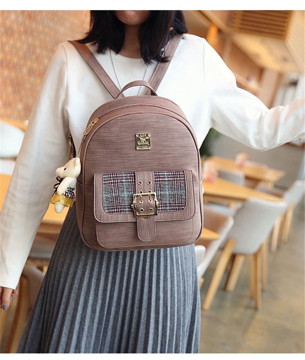 c628c0f190 Backpack Women Fashion Trendy Bag of Fresh College Students Small Fresh  Small Backpack