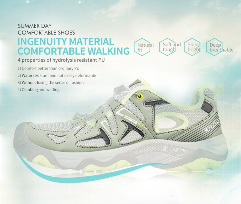 acf7297e0621 Clorts Aqua Water Shoes Summer Quick-drying Sneaker Lightweight Upstream  Shoes Breathable Shoes