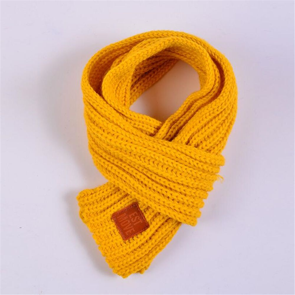 2019 Knitted Scarf Kids Winter Warm Shawls And Scarves For ...