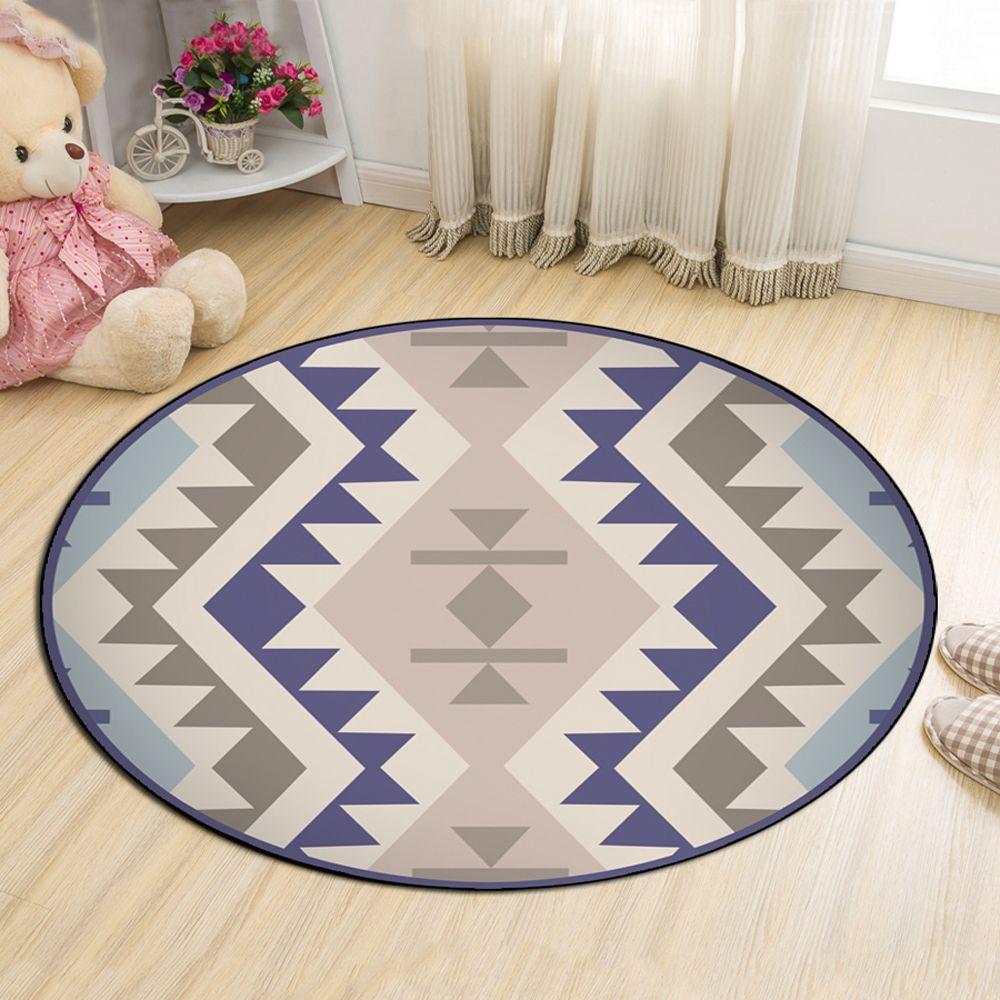 Colormix 100x100cm Cloakroom Floor Mat Bohemia Style