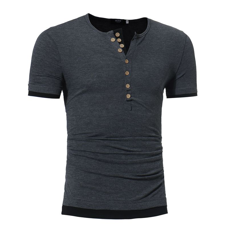 116dcc65b Sleeve Length: Short Sleeves Collar: Round Neck Style: Fashion Pattern  Type: Solid Weight: 0.2000kg. Package Contents: 1x T-shirts