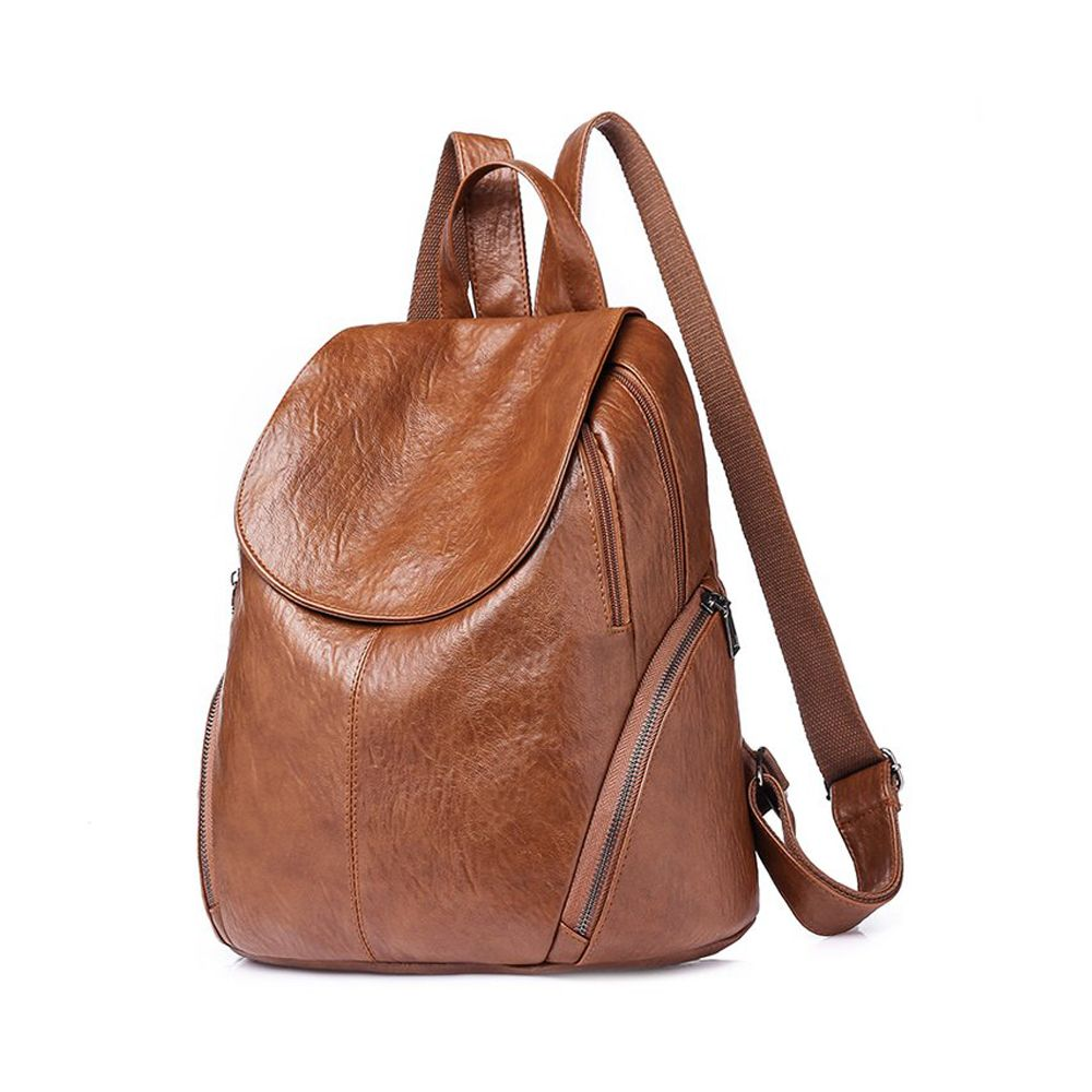 High Quality PU Leather Backpack Women Designer School Bags For Teenagers  Girls Luxury Women Backpacks ad8feff880239