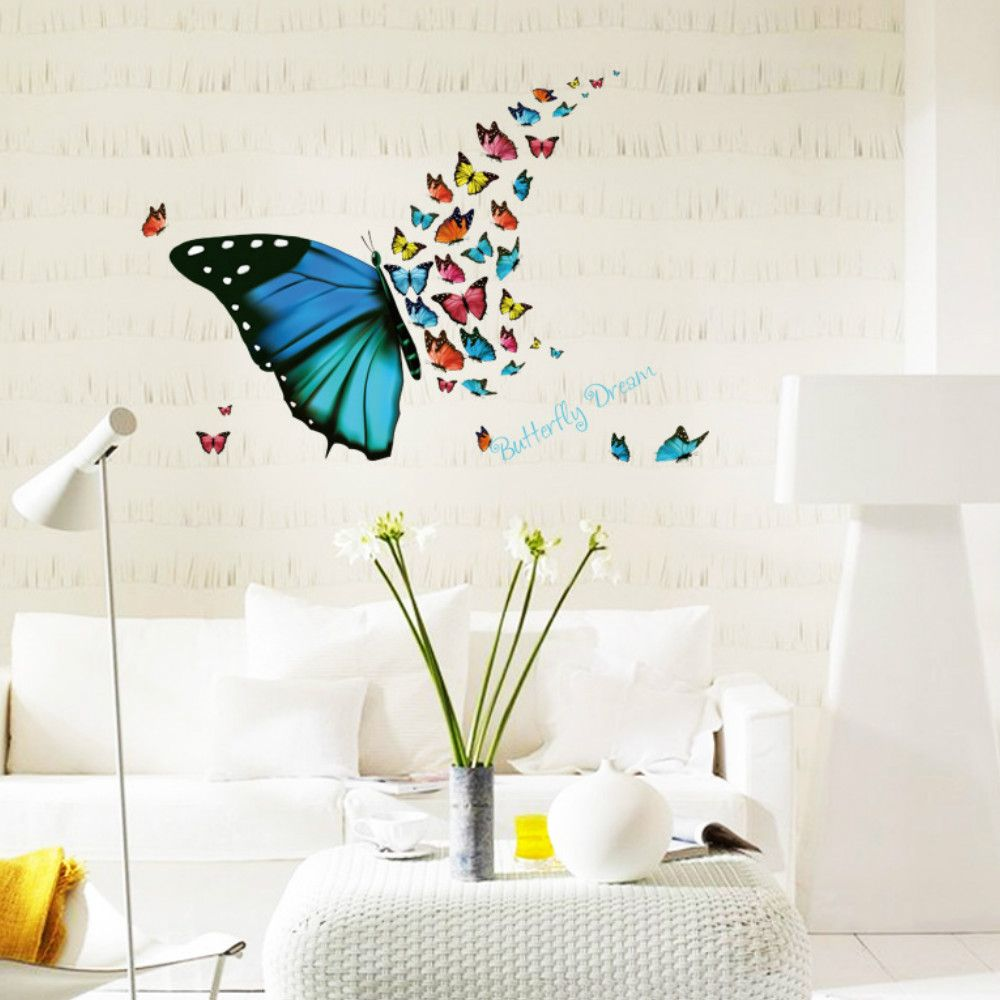 3d butterfly wall decor target string