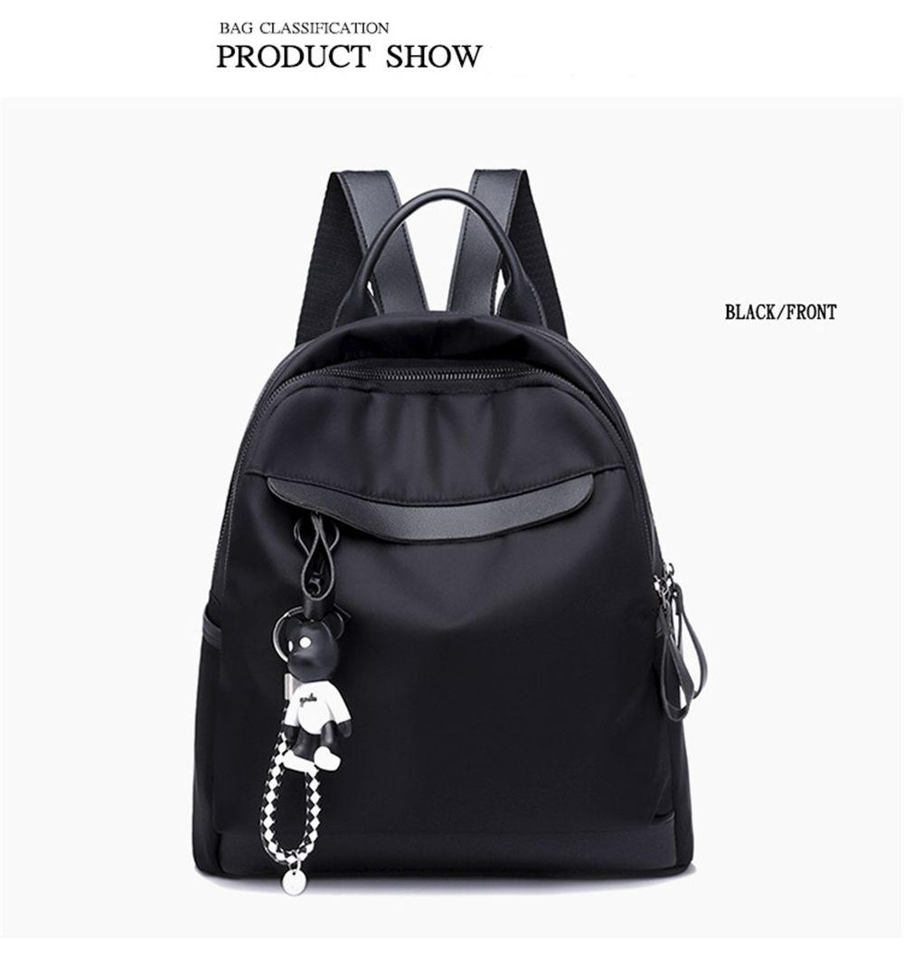 5a6be7fc94 2019 Fashion Oxford Cloth Ladies Nylon Backpack Tide
