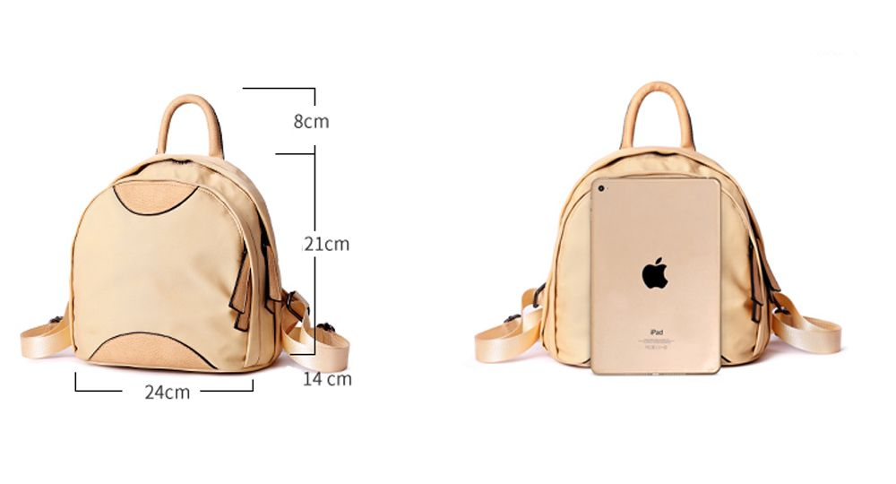Small Nylon Backpack Purse for Women   Girls Casual Travel Lightweight  Daypack ff9702555ab5e