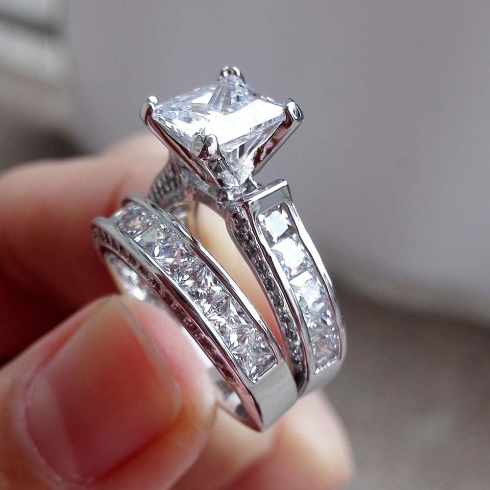 shipping diamond cross dazzling ring engagement wedding free topaz jewellery victoria gift simulated wieck product sz silver band set