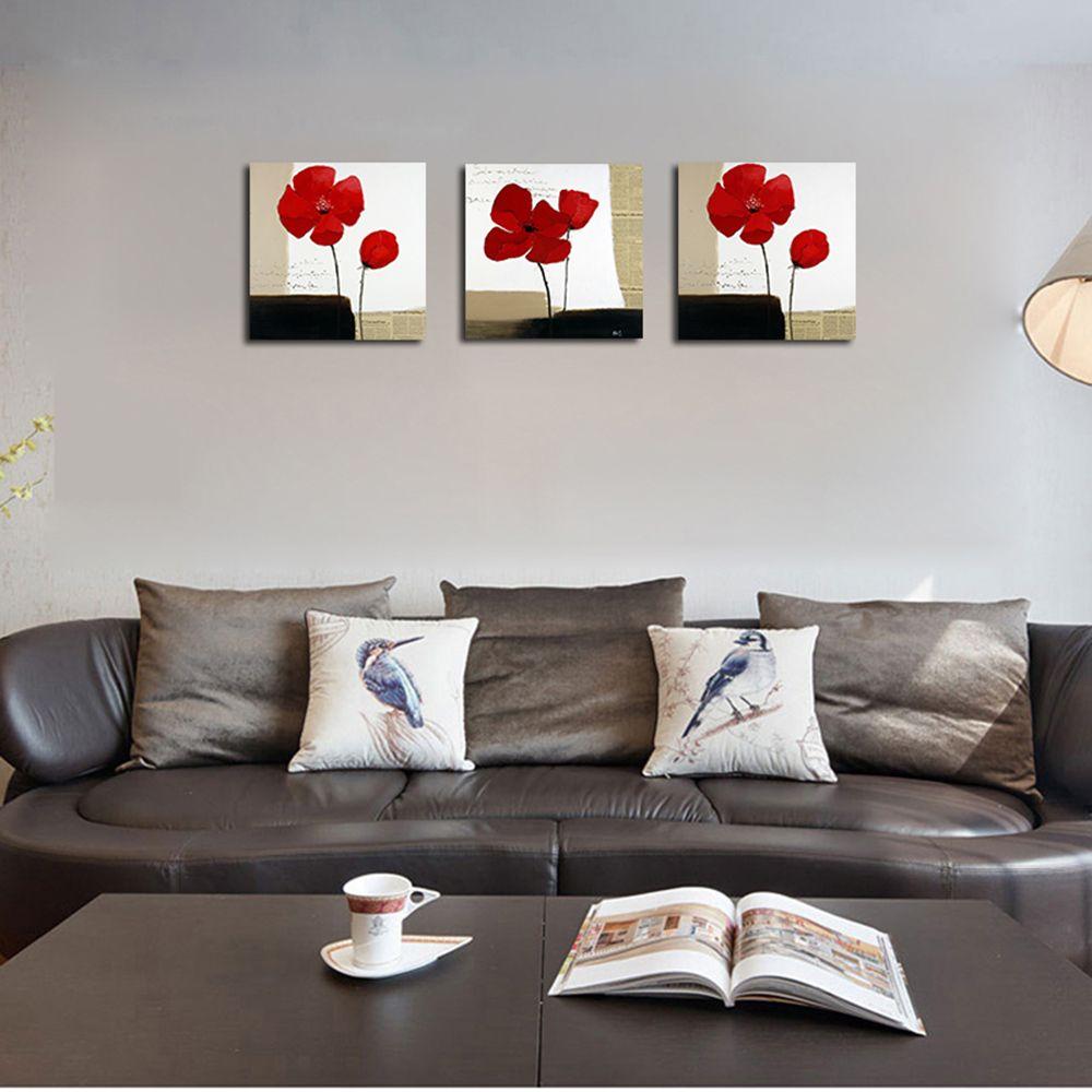 Colormix Qiaojiahuayuan No Frame Canvas Living Room Sofa Background ...