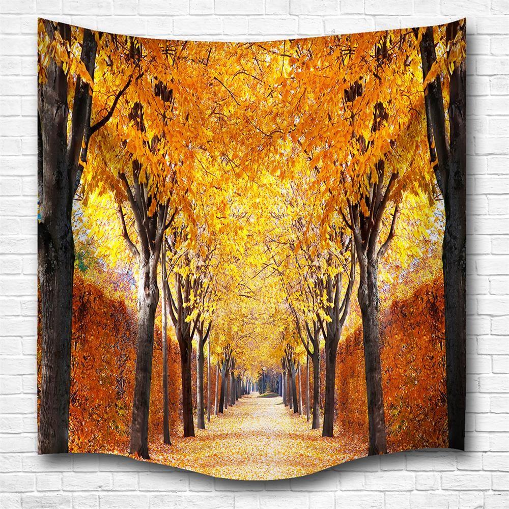 Colormix W230cmxl180cm The Autumn Leaves 3d Digital Printing Home ...