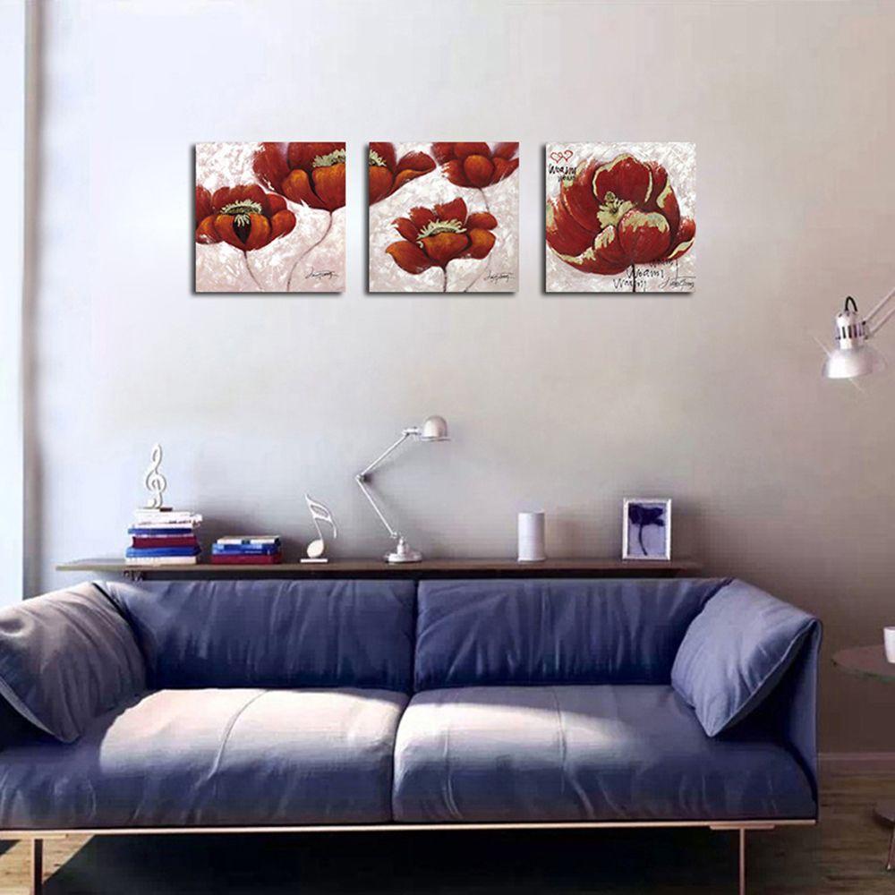 Colormix 40cmx40cmx3 Qiaojiahuayuan No Frame Canvas Living Room Sofa ...