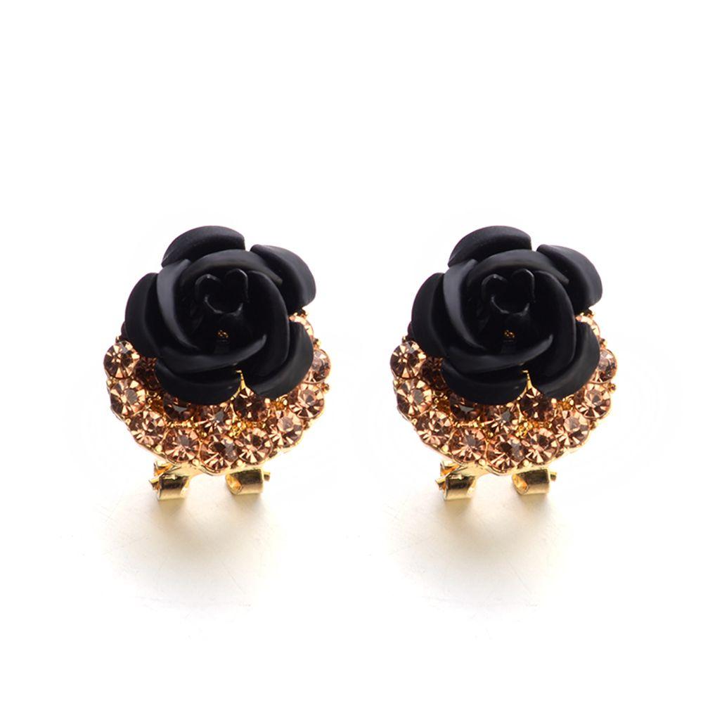 e6241f9ce2974 Fashion Korean Cute Five-Pointed Star Sweet Wild Temperament Earrings Rose  Simple Stylish Earrings