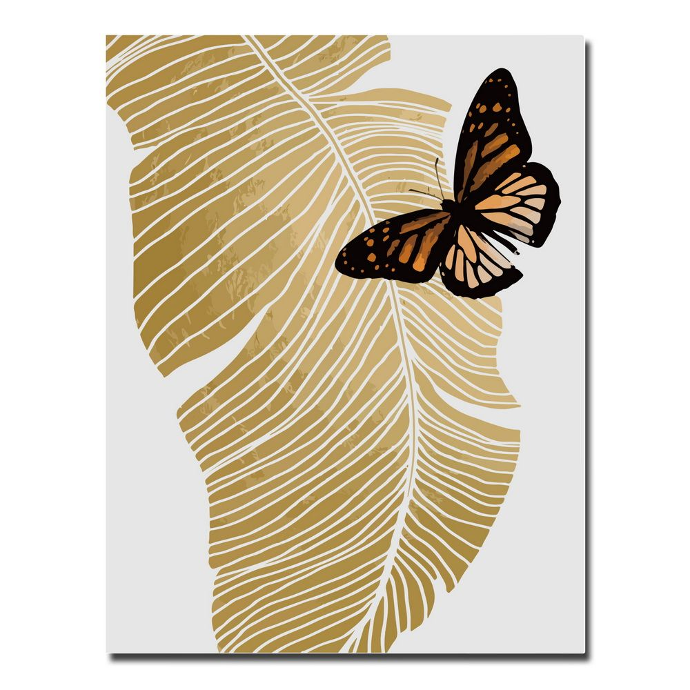 2018 Canvas Inkjet Abstract Cute Simple Butterfly Painting Living ...
