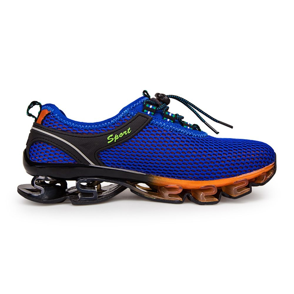 cost cheap sale comfortable Men's Mesh Breathable Technology Shock-Absorbing Blade Running Shoes - Royal Blue 42 sneakernews for sale supply cheap price outlet new GSOsd7