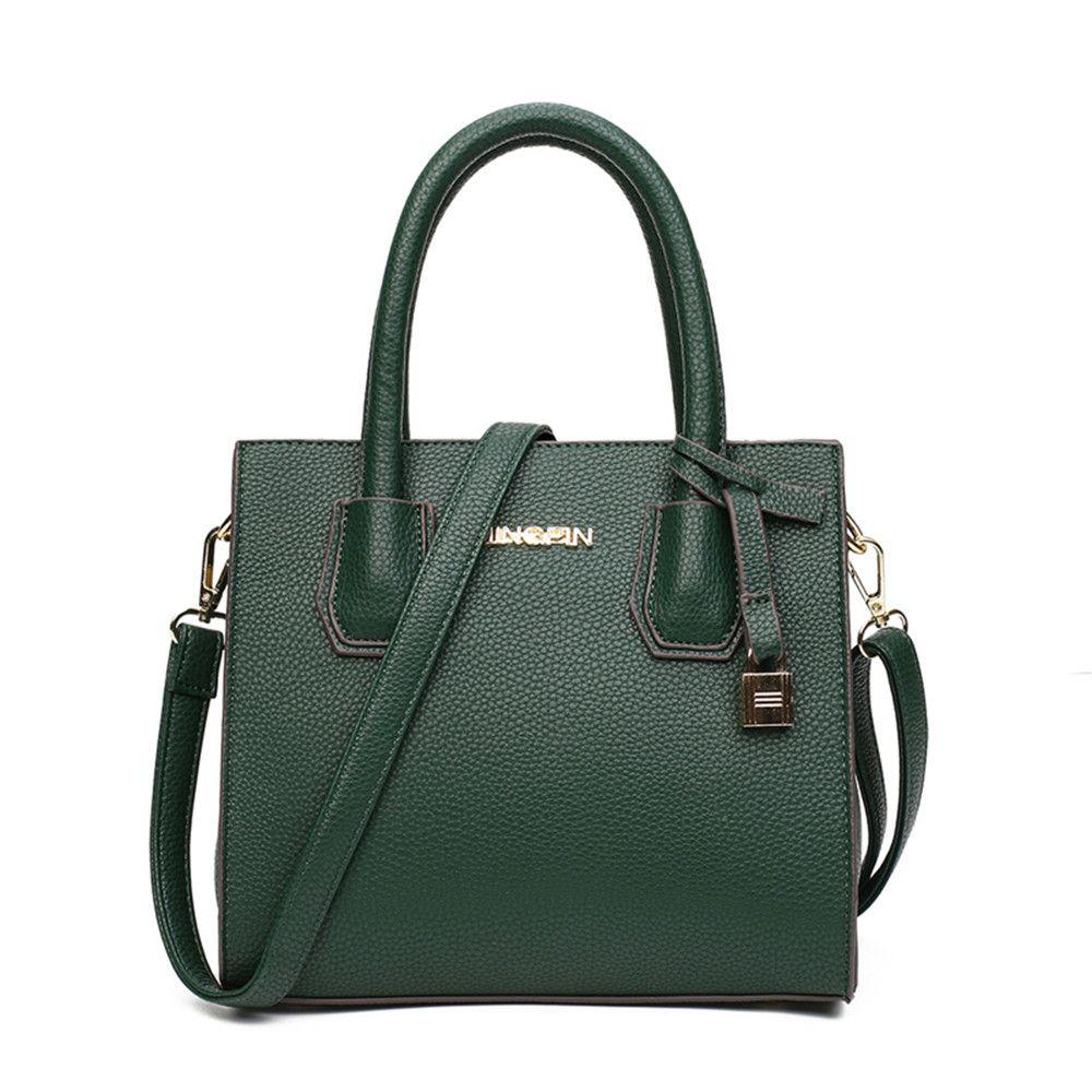 b6cf8ffef44 Fashion Litchi Pattern PU Leather Handbags Women Tassel Casual Tote Bags  Vintage Women Handbags Crossbody Bags