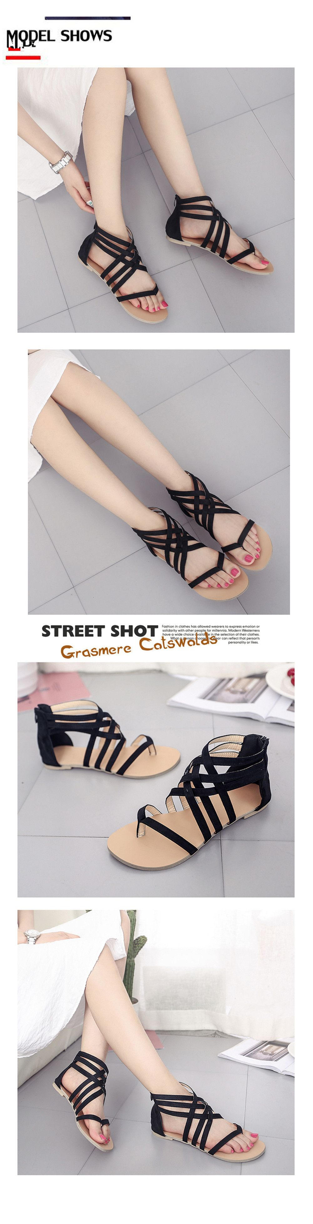f61dc8c92 2019 The Pine-toed Hollow With Roman Sandals