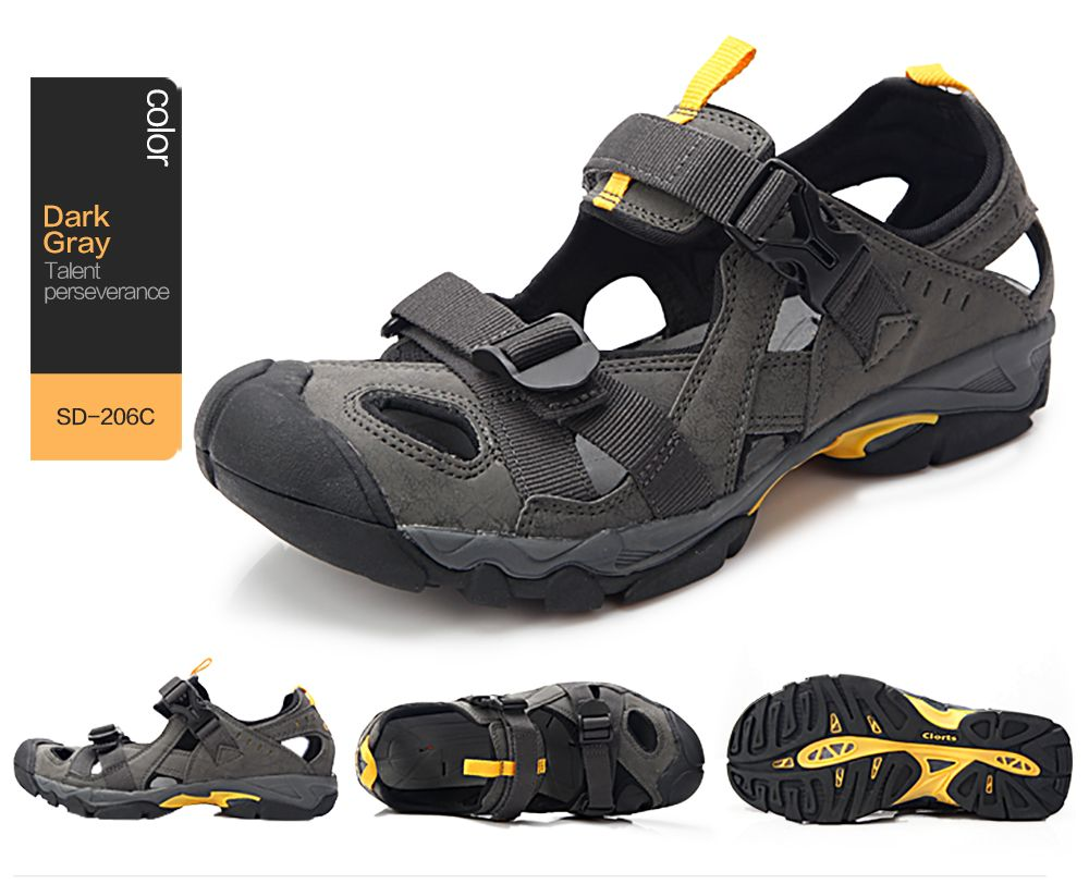 7acddc3fceac Clorts Quick-drying Water Shoes Breathable Outdoor Beach Sandal Shoes For  Men