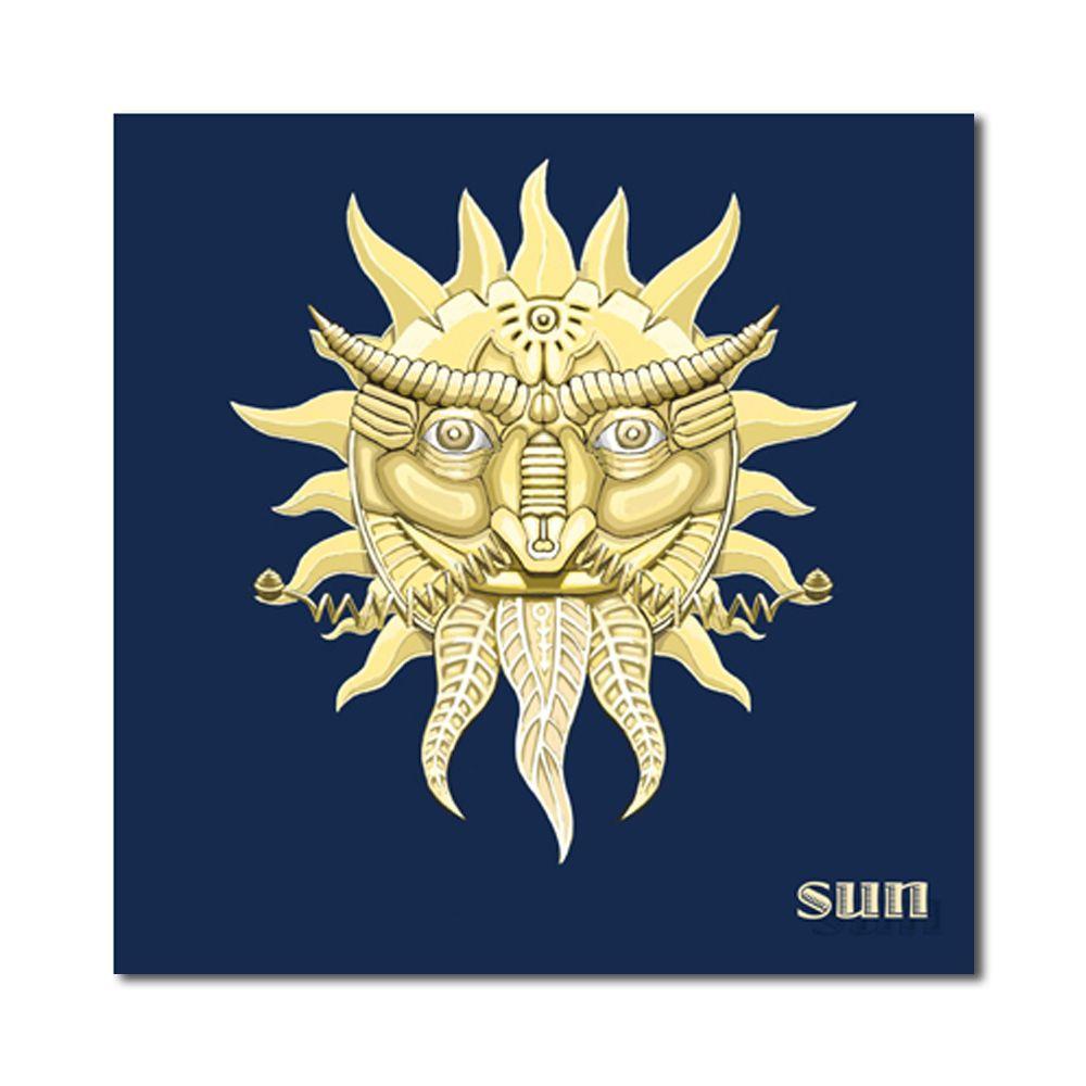 Multi A 50cm X 50cm X 3pc W126 Sun Moon Star Unframed Art Wall ...