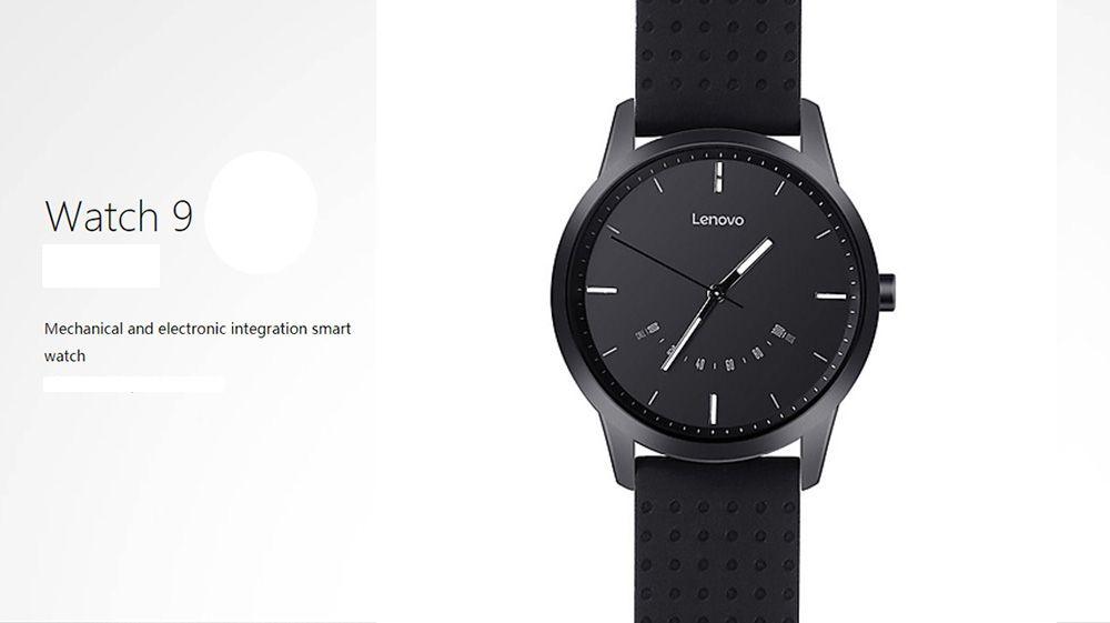 Elegancki klasyczny smartwatch = Zegarek Lenovo Watch 9 za 19.99$ (możliwe 16.79$) - Rosegal