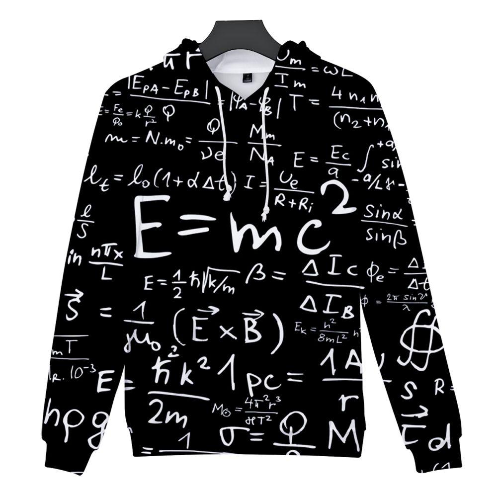 4270aa2bb6bb 2018 New Equation Print 3D Hoodie