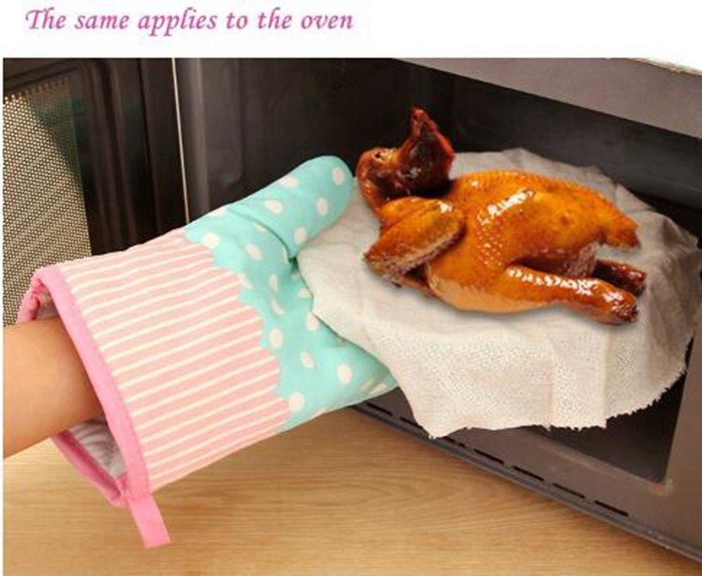 40 Off 2pcs Microwave Oven Glove Heat Resistant Cotton