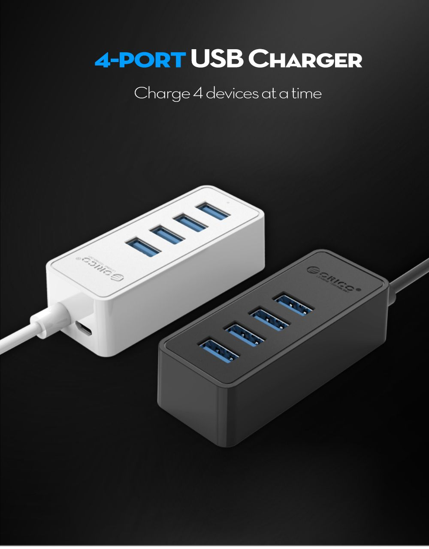 ORICO W5P - U3 - 10 4-port Charger USB 3.0 Hub