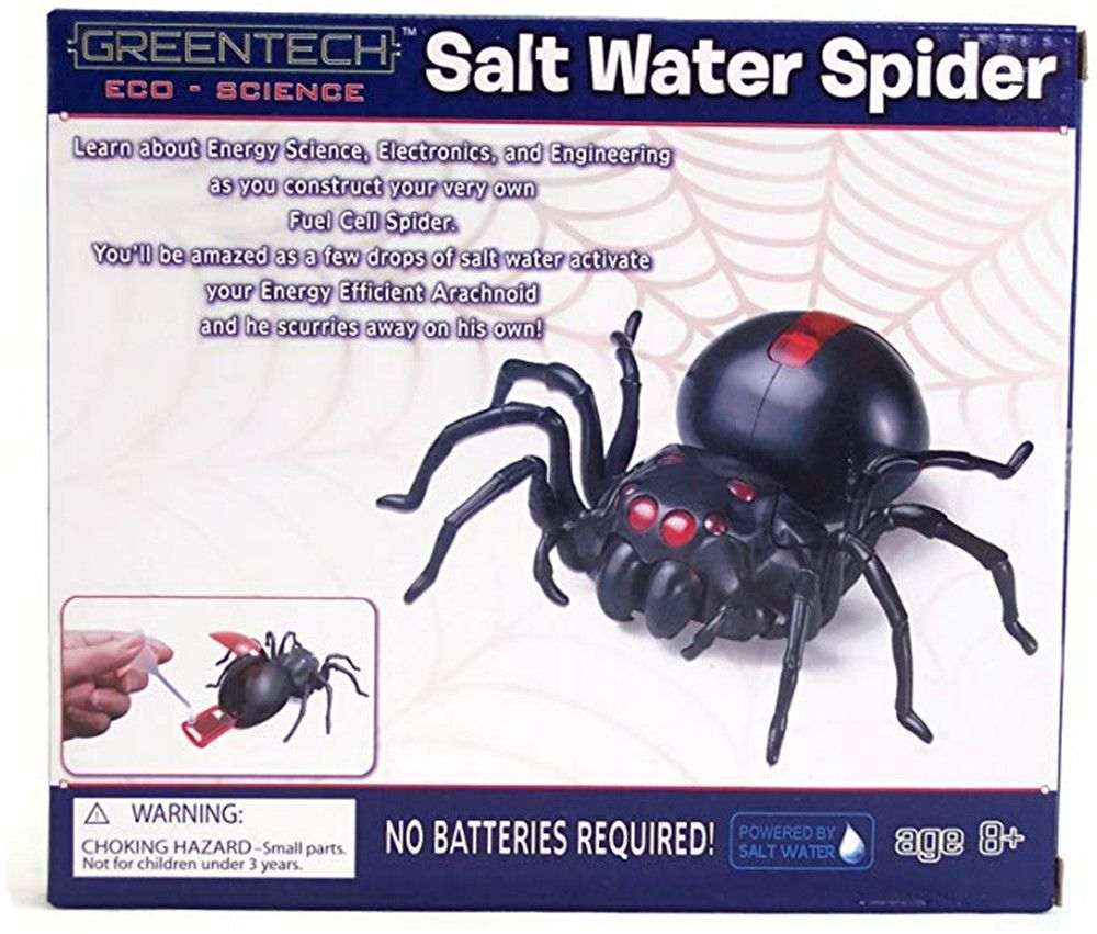 DIY Salt Water Powered Spider Educational Kit Game Toy