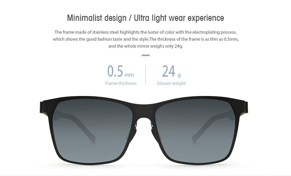 8c8e36eaef9 2019 Ts Pilot Style Uv Protective Sunglasses From Xiaomi Mijia ...