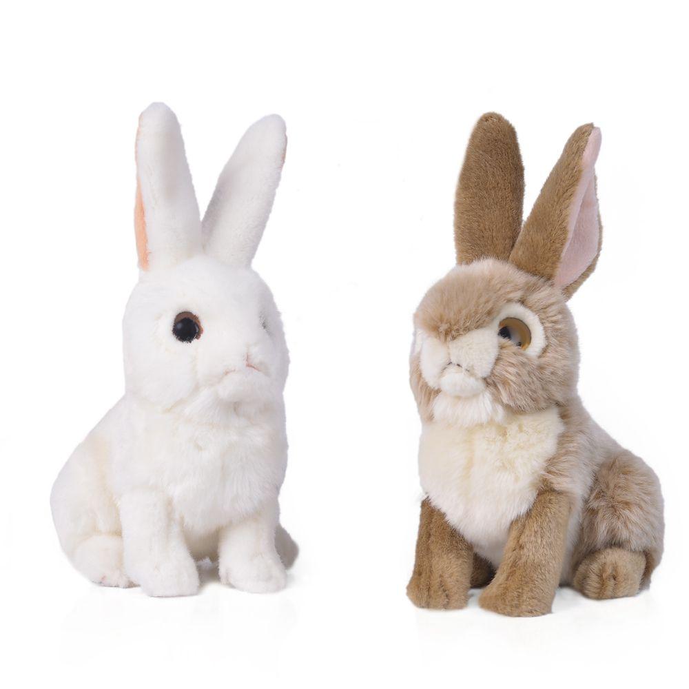 2019 Rabbit 10 Inch Realistic Stuffed Animal Plush Bunny By Tiger