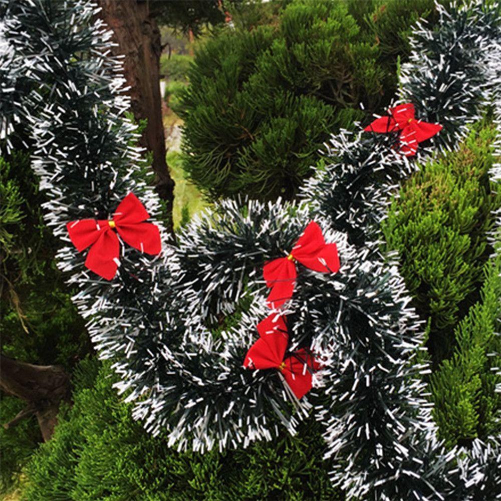 2m Christmas Decoration Bar Tops Ribbon Garland Christmas Tree