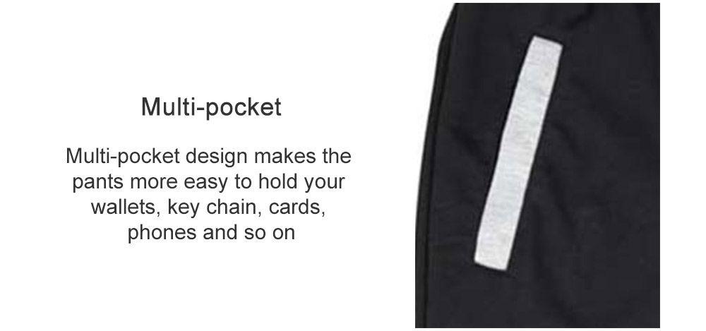 Men Color Casual Cropped Trousers Sweatpants Men Pants 8bac2172d4fd6